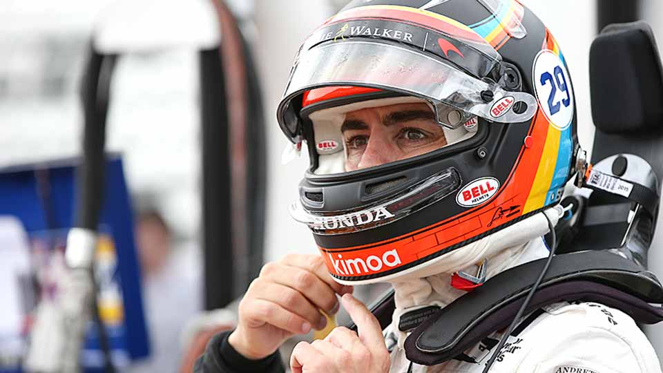 Coolness Factor of Alonso at Indy 500 Cannot Be Underestimated