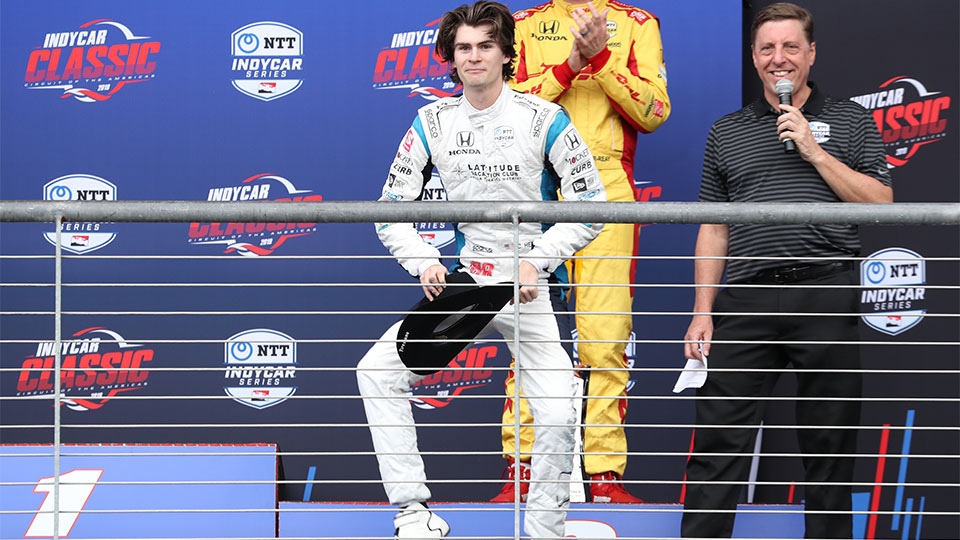 Colton Herta Breaks IndyCar Record For Youngest Driver to Win a Race