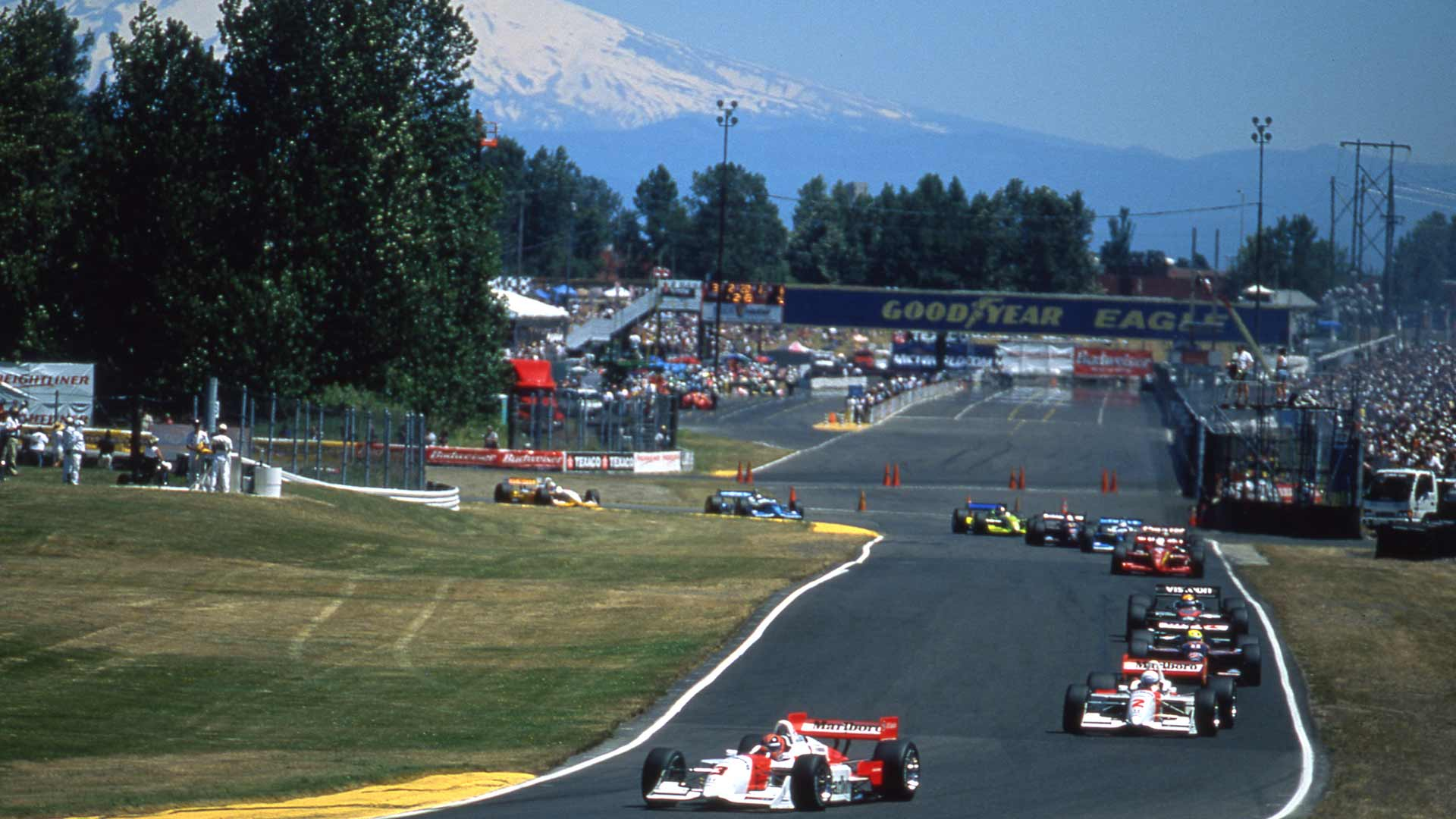 A throwback to the Grand Prix of Portland from 2000