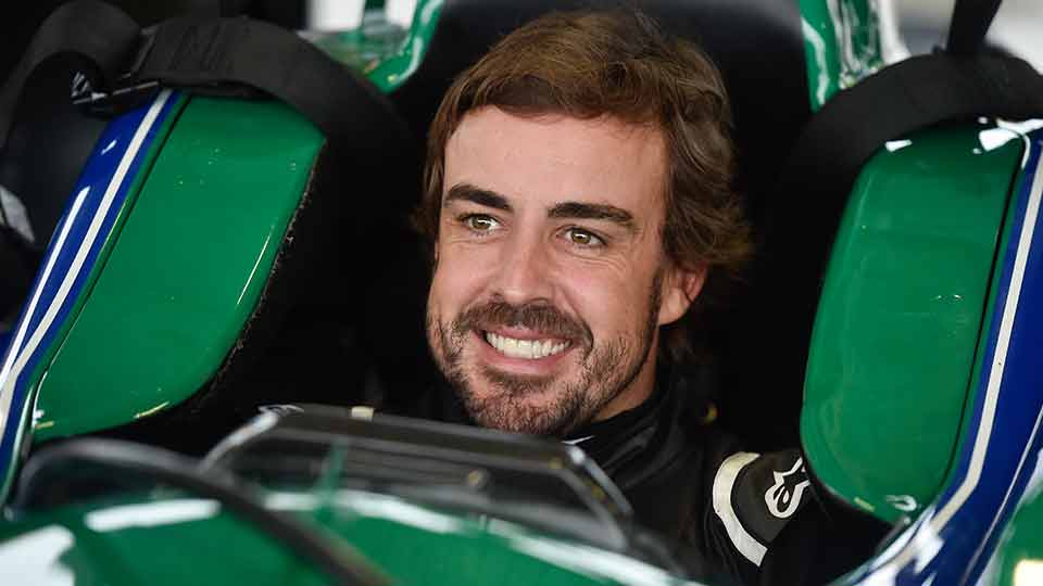 Alonso tests at Barber