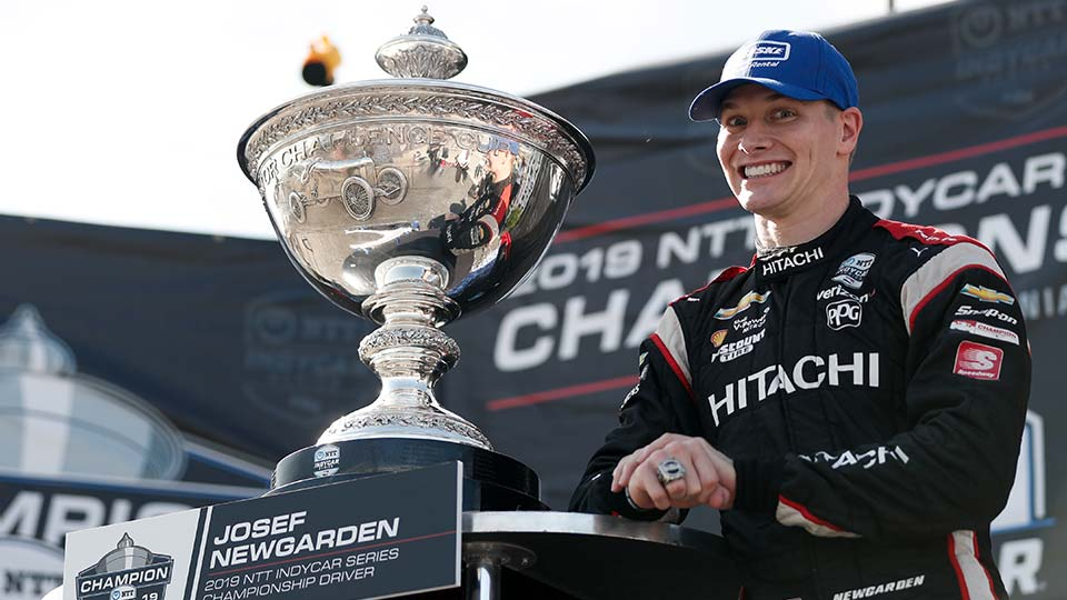 Newgarden Earns Second Series Title; Herta wins Firestone Grand Prix of Monterey