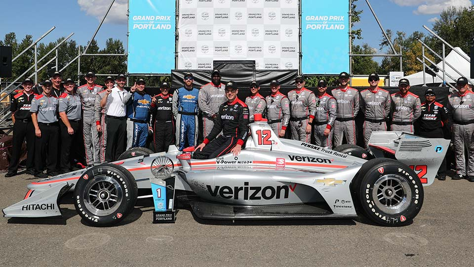 Will Power Wins the Grand Prix of Portland