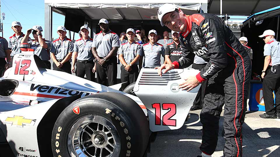 Will Power gets the pole at the Grand Prix of Portland